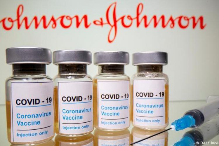 54.000 de doze de vaccin Johnson&Johnson au intrat astăzi în România