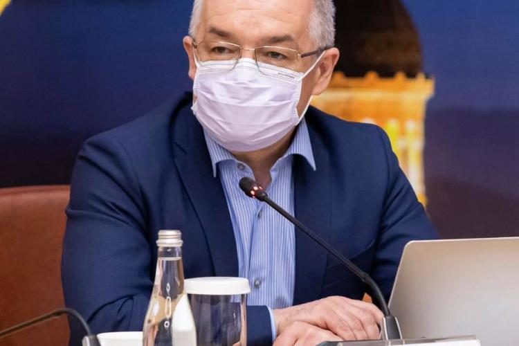 Boc: Pandemia va intra la Cluj într-o zonă de platou. Depinde numai de noi ce va urma. Luna iunie vine după luna mai