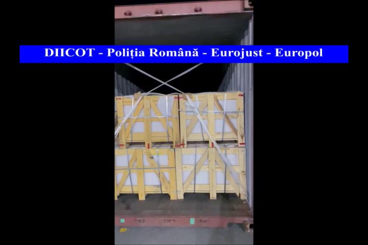 Captură de droguri în valoare de 45 de milioane de euro. Drogurile erau ascunse în materiale de construcție - FOTO