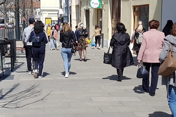 Cât a scăzut incidența în Cluj-Napoca în ultima zi? Rata de infectare pe localități