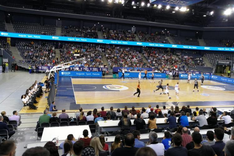 U-BT Cluj cere permisiunea pentru a organiza un meci de baschet test cu spectatori
