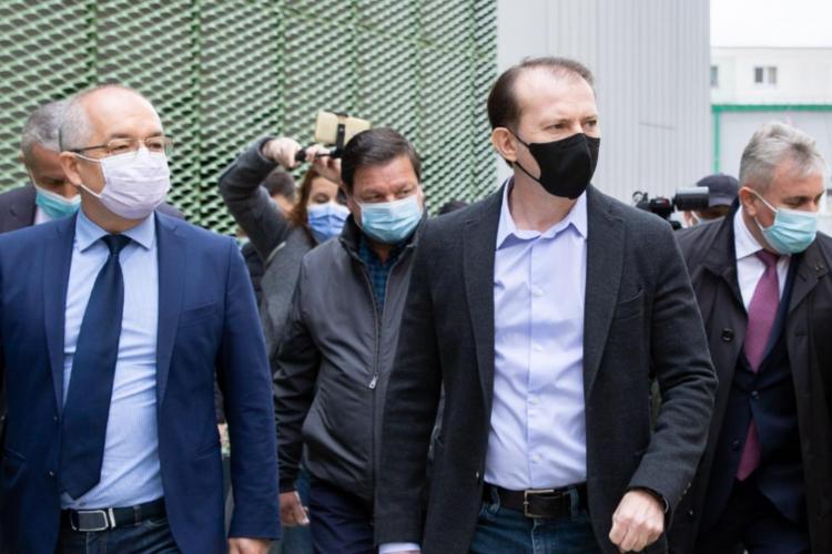 Tandemul Boc - Cîțu în luptă cu Ludovic Orban pentru șefia PNL