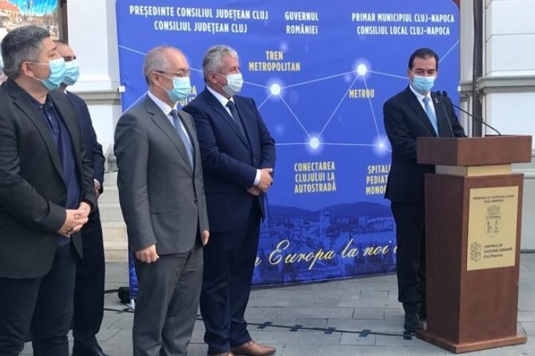 Cum a ajuns metroul Clujului de la 19 la 5 stații? Liberalii au câștigat alegerile la Cluj cu aceste proiecte