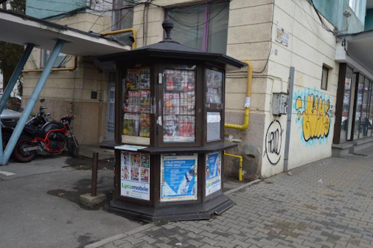 Chiria lunară a unui chioșc de presă din centrul Clujului, cât a unui apartament cu trei camere