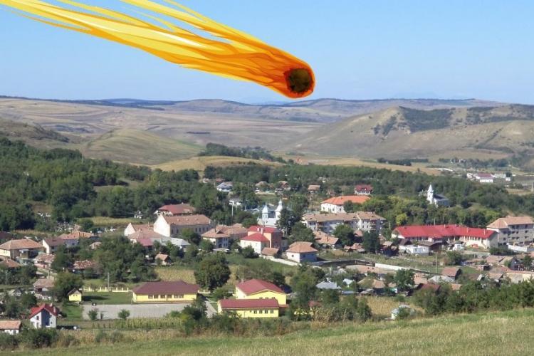 Un meteorit de 30.000 de kg a căzut în Mociu. Pățania din 1982 care i-a îngrozit pe oameni - FOTO