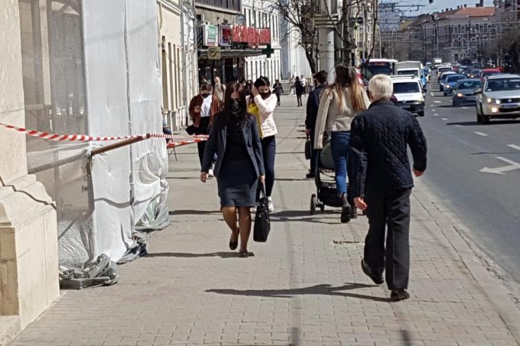 Incidența în Cluj-Napoca a ÎNGHEȚAT! De câteva zile, nicio schimbare