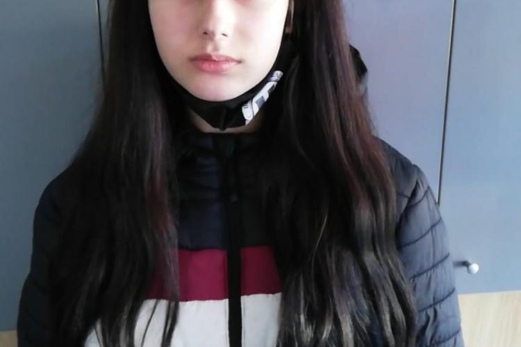 AȚI VĂZUT-O? O fată de 13 ani din Cluj-Napoca a plecat de acasă în 28 aprilie