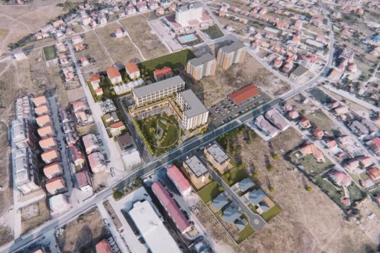 Mall în cartierul Bună Ziua, potrivit pe o bucată de pământ, între Lidl, Grand Hotel Italia și blocuri - VIDEO