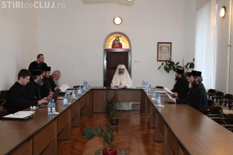 """Patriarhul Daniel a condus Sinodul Mitropolitan Cluj: """"Sa nu lansam scenarii in cele 40 de zile de doliu"""""""