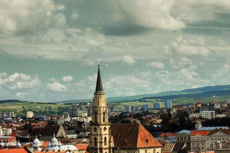 Vremea: Vant si ninsoare in weekend la Cluj