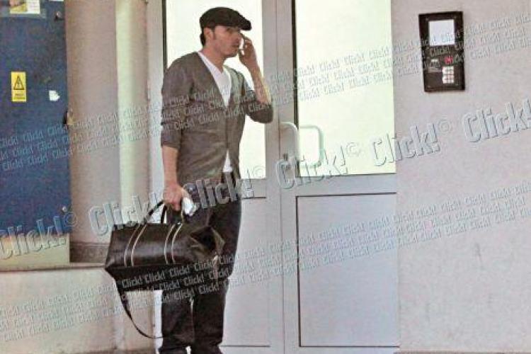 Adrian Cristea, inchis de Bianca Dragusanu afara din propria casa - FOTO