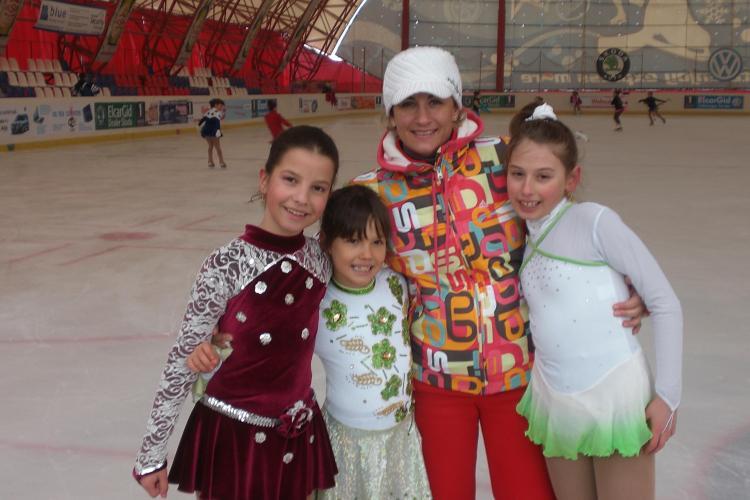 Spectacol pe gheata in week-end la patinoarul Fiesta Sport din Cluj-Napoca!
