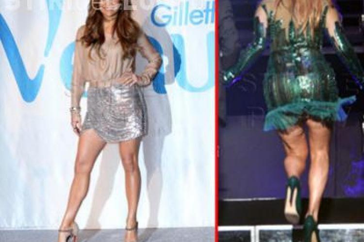 Jennifer Lopez a scapat de celulita in trei luni! Photoshop sau miracol?