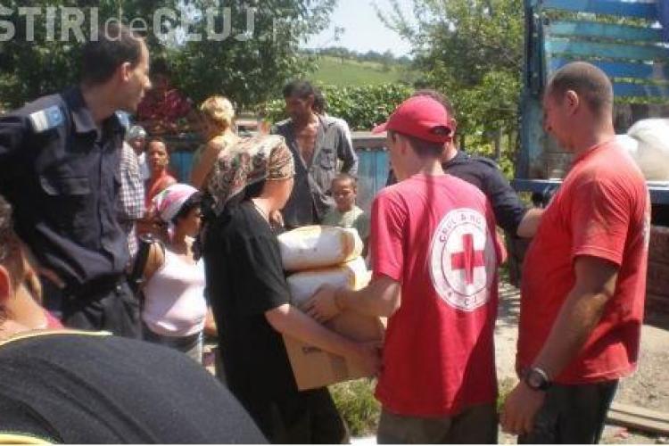Crucea Rosie Cluj trimite ajutoare umanitare in judetul Botosani, persoanelor afectate de inundatiile din 2010