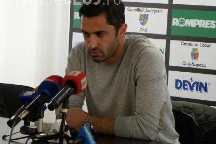 "Claudiu Niculescu: ""Imi place la Cluj si imi doresc enorm sa continui si de la anul"""