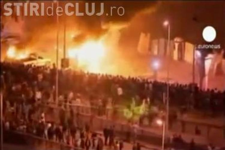 Calaretul Apocalipsei goneste pe strazile din Cairo! - VIDEO