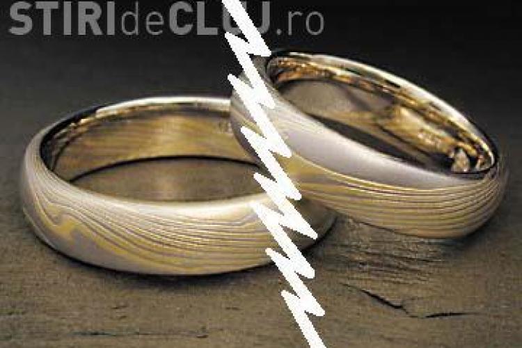 Divortul costa 2 lei la Primaria Cluj. 38 de cupluri au cerut de la inceputul anului divort pe cale administrativa