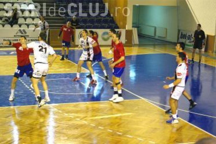 U Transilvania Cluj, victorie in etapa a XII-a a Ligii Nationale de Handbal