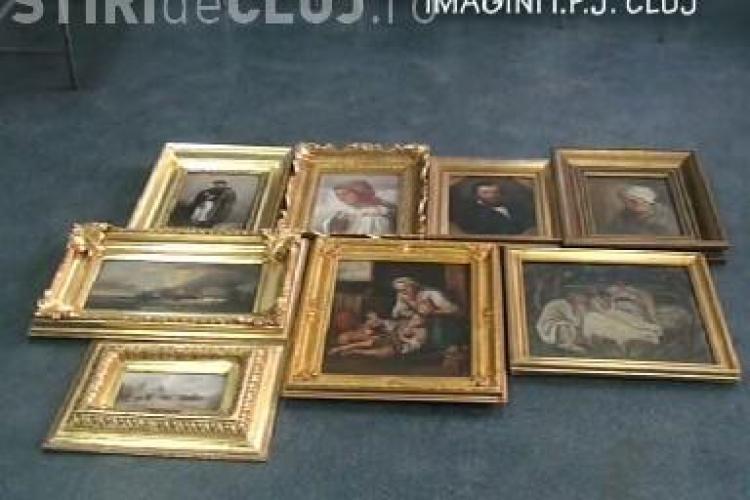 Al doilea autor al furtului de tablouri de 400 de mii de euro a fost prins!El mai furase inainte 12 tablouri in valoare de 60 de mii de lei - VIDEO
