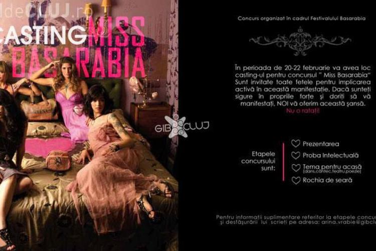 Miss Basarabia! Castingul va avea loc in perioada 20-22 februarie