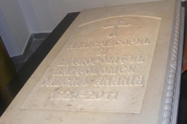 "IPS Bartolomeu va fi inmormantat ""in pamant reavan"", adus de la Manastirea Nicula - VEZI imagini cu cripta Ierarhilor"