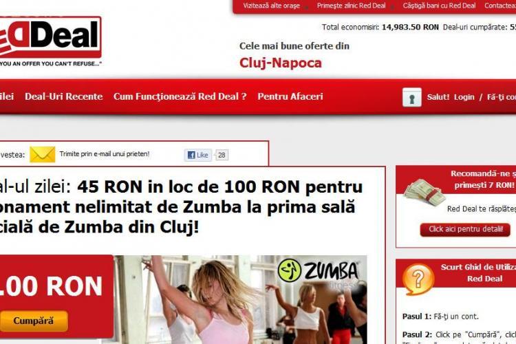 Red Deal - prima retea de cumparaturi colective din Transilvania