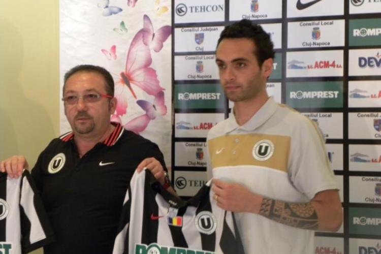 """Nicola Ascoli, jucator din serie B, a semnat cu U Cluj: """"Sper sa batem CFR Cluj"""""""