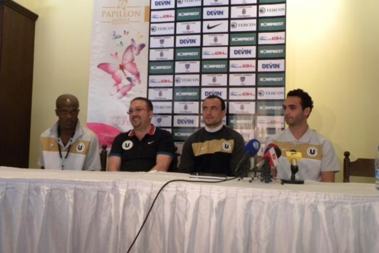 Ionut Badea, antrenorul U Cluj: Obiectivul nostru ramane locurile 8-12! Sunt multumit de transferurile facute
