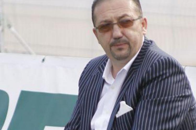 Finantatorul Universitatii Cluj, Florian Walter, este multumit de egalul cu Steaua Rosie Belgrad