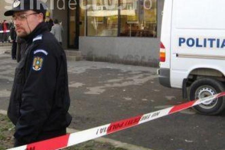 Jaf armat la Pitesti! O banca a fost atacata de un barbat inarmat