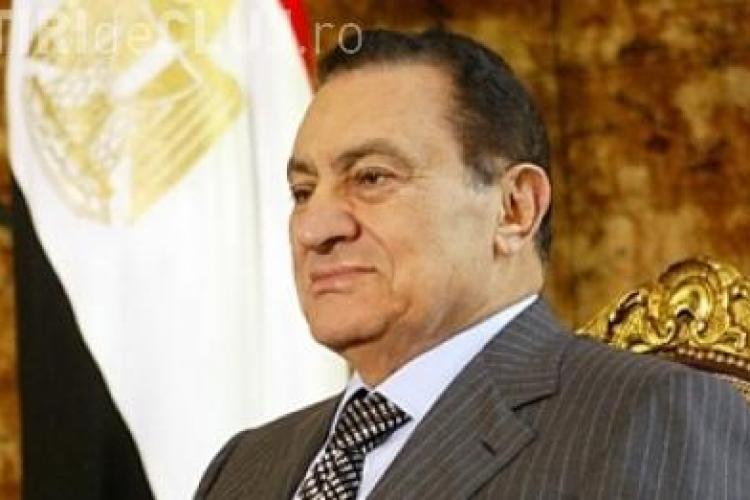 Presedintele Egiptului, Hosni Mubarak, a demisionat