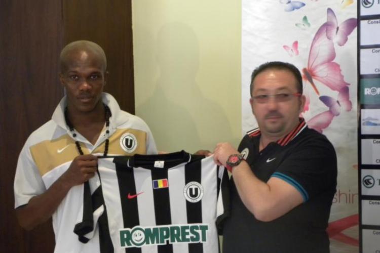 Tony a semnat prelungirea contractului cu U Cluj! Jucatorul a fost imprumutat 6 luni la Ariesul Turda