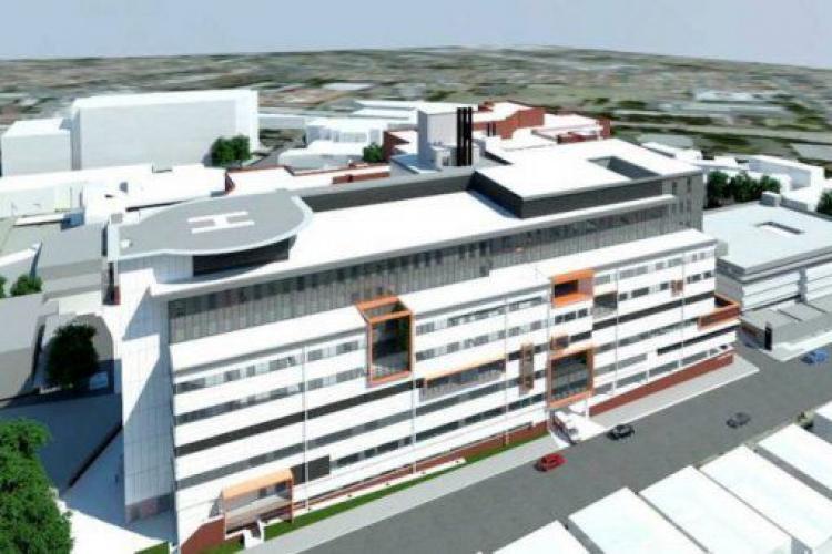 Guvernul ia împrumut pentru a construi spitalul regional de la Cluj