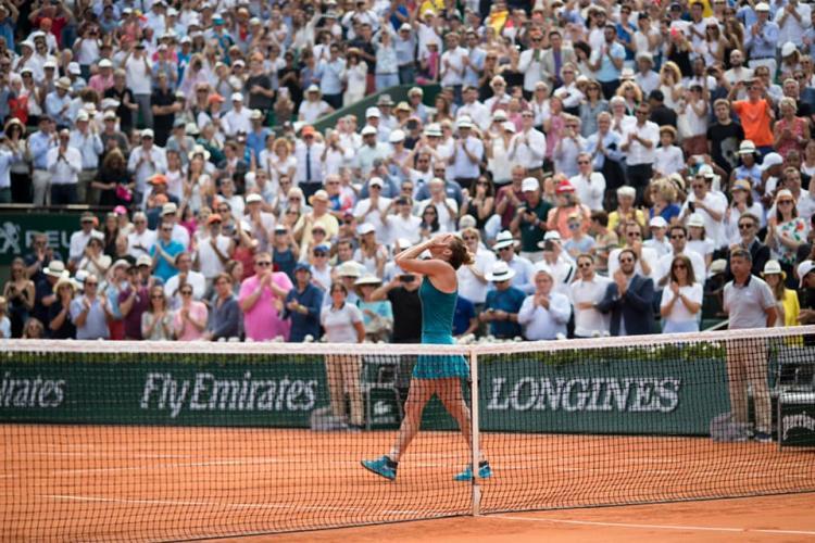 Simona Halep s-a retras de la Roland Garros