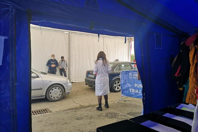 Cluj: Vaccinarea Drive Through din Cluj-Napoca este un SUCCES NAȚIONAL datorită acestui medic - FOTO