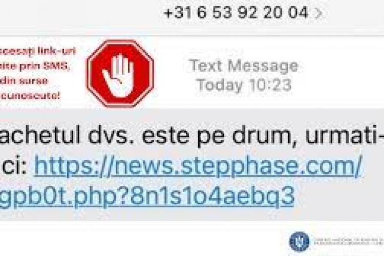 CERT-RO și SRI lansează un AVERTISMENT după valul de SMS -uri care anunță primirea unui colet