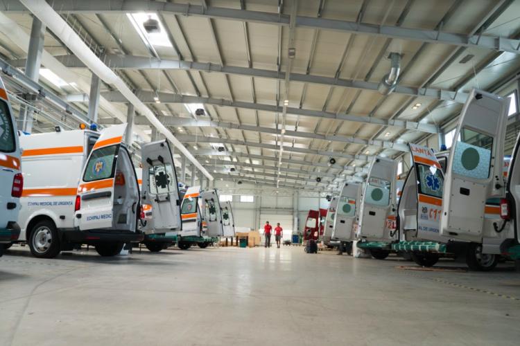 """Deltamed, """"campionii"""" producției de ambulanțe din România, își dezvăluie secretele"""