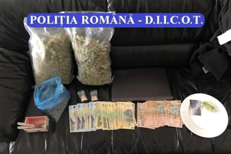 Cluj: Interlopul Căposu, arestat pentru trafic de droguri alături alți zece complici. Cine sunt traficanții