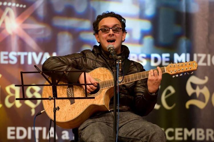 Un clujean nevăzător participă și poate fi VOTAT la un concurs internațional de muzică - FOTO