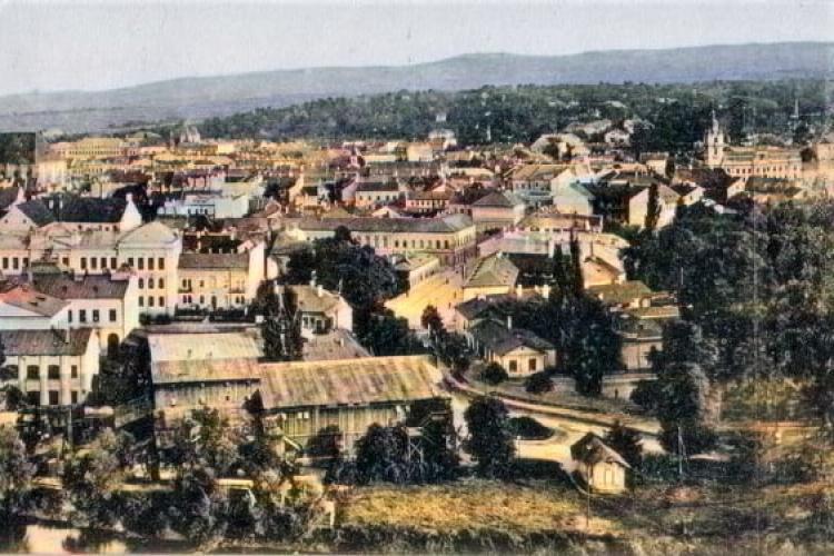 Panoramă superbă cu Clujul din perioada 1903 - 1907. Fotografia conține detalii inedite - FOTO