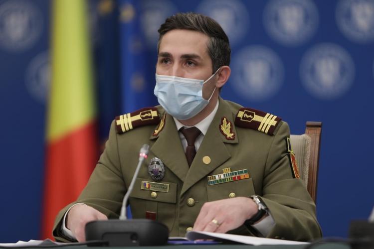Valeriu Gheorghiţă: Circa 19.860 de cetățeni străini s-au vaccinat în România anti-COVID