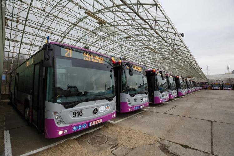"""""""Vinerea Verde"""" în Cluj-Napoca aduce transport în comun gratuit. Programul se aplică dacă se ajunge la 50% populație vaccinată"""
