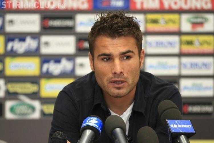 Adrian Mutu antrenează CFR Cluj