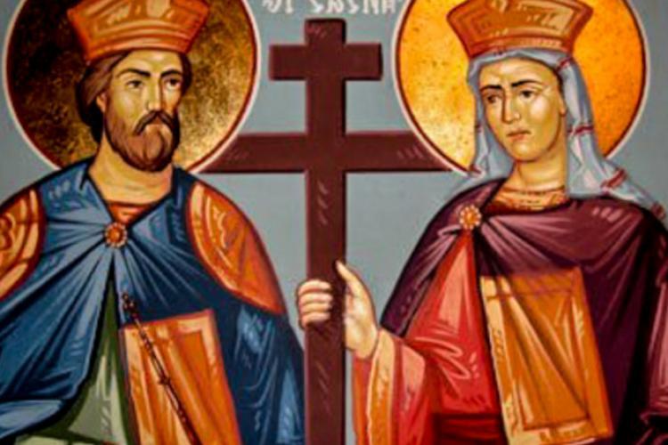 Sfinţii Constantin şi Elena, prăznuiţi azi de ortodocşi. Tradiţii şi obiceiuri în această zi de sărbătoare