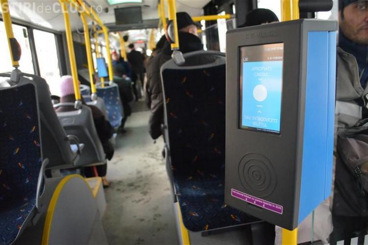 CTP Cluj nu mai dă chitanță la plata biletului cu cardul la POS -urile din autobuze