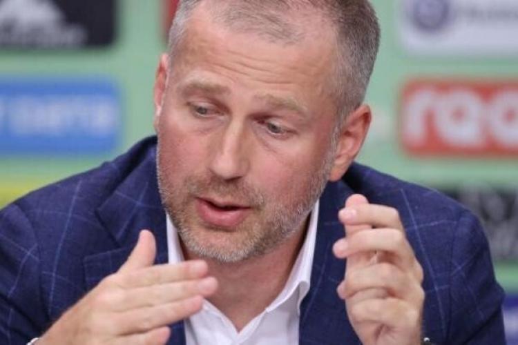 CFR Cluj s-a despărțit de antrenorul Edi Iordănescu, cu care a cucerit al patrulea titlu consecutiv în Liga 1 de fotbal
