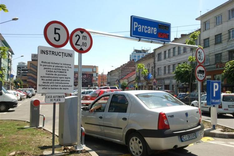 Care sunt cele mai căutate parcări din Cluj-Napoca - Studiu