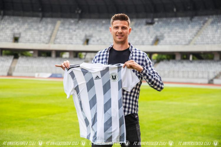 U Cluj l-a transferat pe Albert Voinea, fostul golgheter al ligii secunde