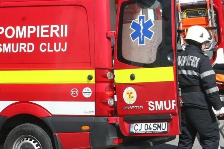 INCENDIU într-un bloc din Florești. O femeie a ajuns la spital cu arsuri