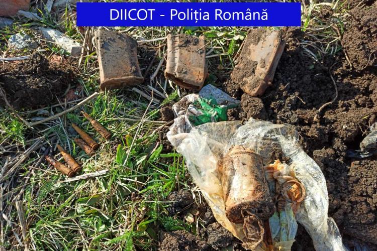 """Armă de asalt AK-74 îngropată în Baciu! Un membru periculos al """"Academiei infractorilor"""" a fost reținut de procurori FOTO și VIDEO"""
